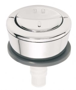 Wirquin Chrome Dual Flush Button